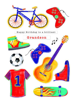 Pronto - Grandson Birthday/Icons