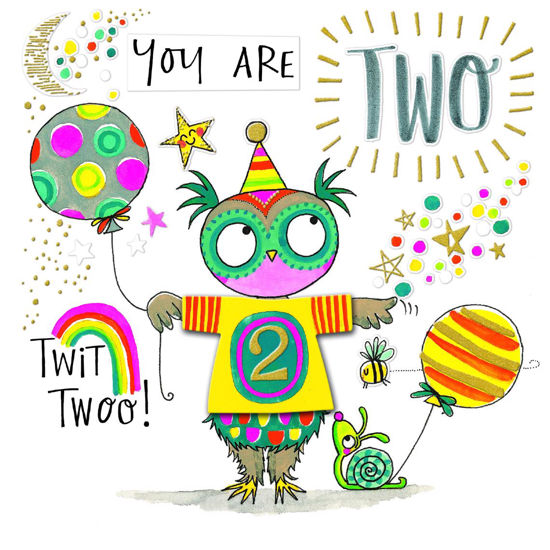 T-Party - Age 2/Owl & Balloons