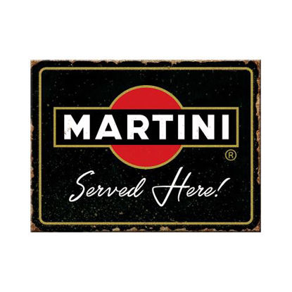 Martini - Served Here, Magnet, 8x0x6 cm