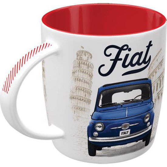 Fiat - Good things are ahead of you, Mugs, 8,5x9 cm, 330ml