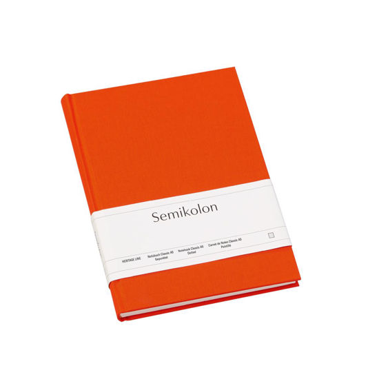 Notizbuch Classic A5 dotted orange