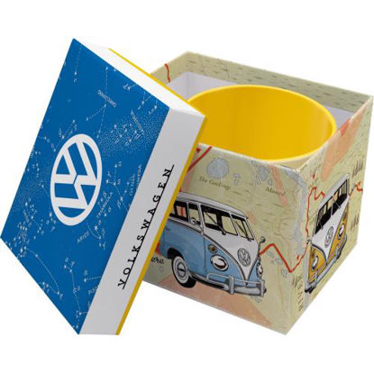 VW Bulli - Let's Get Lost Special Edition, Mugs, 8,5x9 cm, 330ml und Verpackung