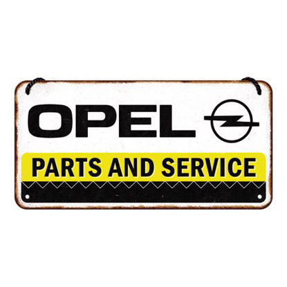 Opel - Parts & Service, Hanging Sign, 20x0x10 cm, A415