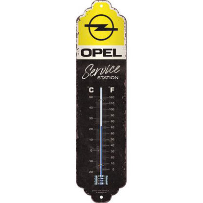 Opel - Service Station, Thermometer, 28x6,5 cm, A411