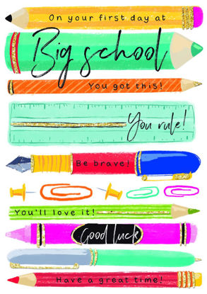 Bright Spark - First Day At Big School/S