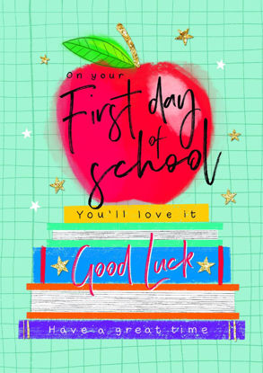 Bright Spark - First Day At School, Appl