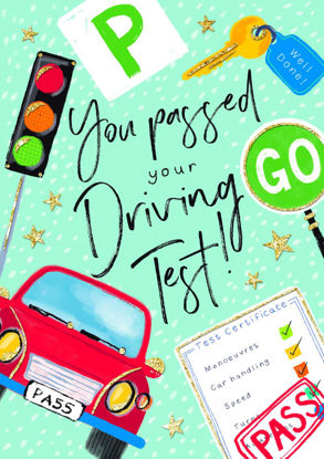 Bright Spark - Driving Test Pass/Car & S