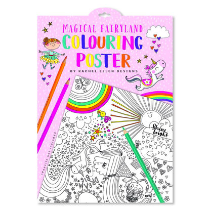 Colouring Posters - Magical Fairy Land