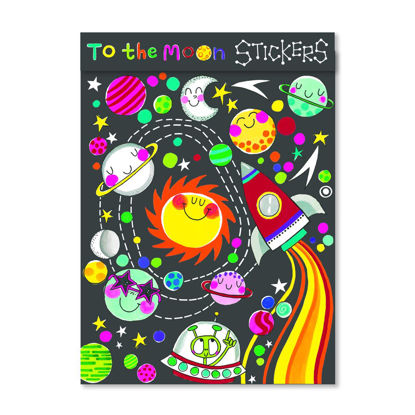 Sticker Books - To The Moon