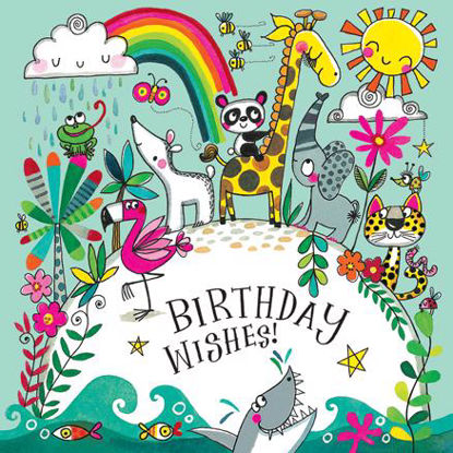 Puzzlekarte - Birthday Wishes/Love our p, mit Couvert, 165x165mm